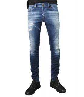 Jeans Diesel bleu - SLEENKER-X 00SWJF 0091Y