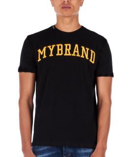 Tshirt My Brand noir MMB-TS032-GM028