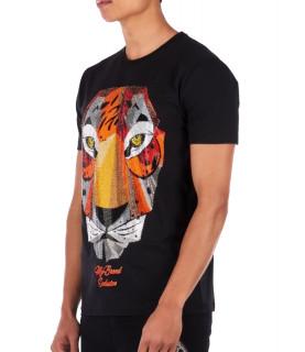 Tshirt strass My Brand noir MMB-TS032-GM036 NOIR