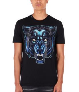 Tshirt strass My Brand noir MMB-TS032-GM013 NOIR