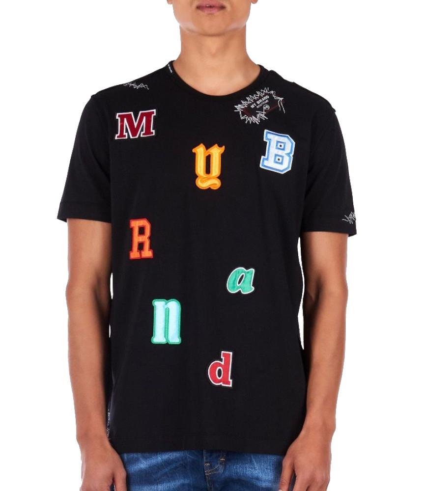 Tshirt My Brand noir MMB-TS036-GM001