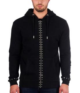 Sweat zippé My Brand noir - MMB-HO005-GM003