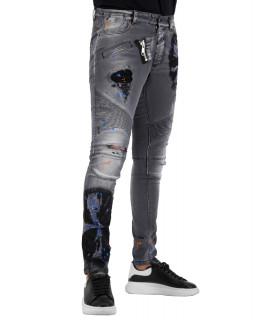 Jeans Boragio gris - 7346