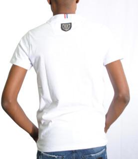 Tshirt HORSPIST strass - PIRANA M520 blanc