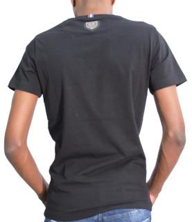 Tshirt HORSPIST strass - CUBA M500 noir
