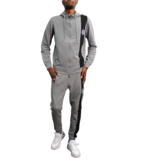 Ensemble survetement Bikkembergs GRIS- RE1270285
