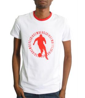 Tshirt BIKKEMBERGS blanc - CZ1260206