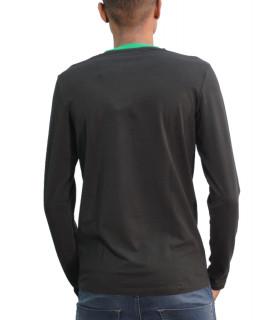 Tshirt BIKKEMBERGS noir vert - CZ1260204