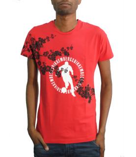Tshirt BIKKEMBERGS rouge - CZ1260159