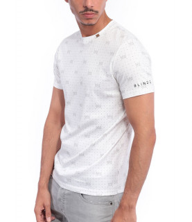 Tshirt Blindé - GENIUS BLANC lingot d'or 18 carats