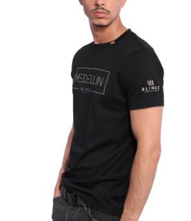 Tshirt Blindé - MEDELLIN NOIR lingot d'or 18 carats