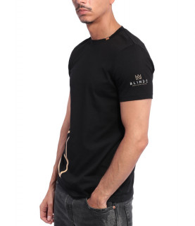 Tshirt Blindé - GAME NOIR lingot d'or 18 carats