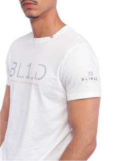 Tshirt Blindé - CRYSTAL BLANC lingot d'or 18 carats