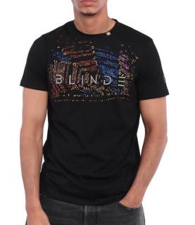 Tshirt Blindé - CASINO NOIR lingot d'or 18 carats