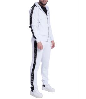 Ensemble survêtement My Brand blanc- MMB-JS010-G3001