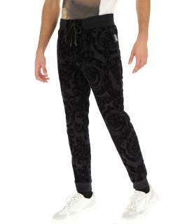 Jogging velours Versace Jeans Couture - A2GUB1F7 noir