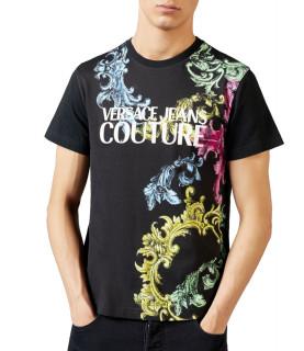 Tshirt Versace Jeans Couture noir - B3GUB7M2