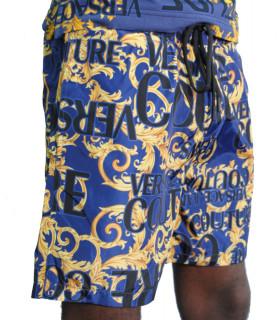 Short Versace Jeans Couture 100% polyester - A4GVA104 bleu