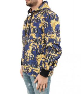 Veste imprimé Versace Jeans Couture - C1GUA910 bleu