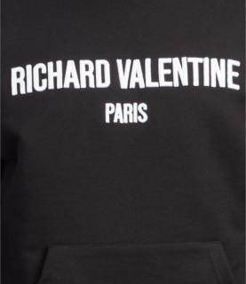Sweat à capuche Richard Valentine - CALIFORNIE NOIR