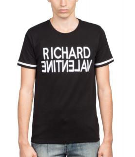 Tshirt Richard Valentine - DELUCAT NOIR