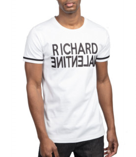 Tshirt Richard Valentine - DELUCAT BLANC