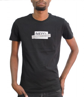 Tshirt Diesel DIEGO S7 MAGLIETTA noir - 00SEEB 0BASU