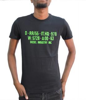 Tshirt Diesel noir- DIEGO S2 - 00SEG9 0091A