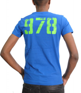 Tshirt Diesel bleu - DIEGO S2 - 00SEG9 0091A