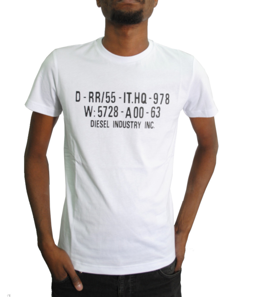 Tshirt Diesel blanc - DIEGO S2 - 00SEG9 0091A