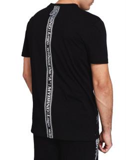 T-shirt My Brand - MB TAPE LOW noir
