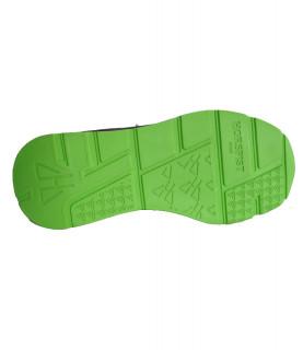 Sneakers Horspist - CONCORDE noir et vert
