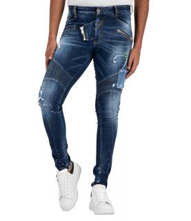 Jeans Boragio - 7498 bleu