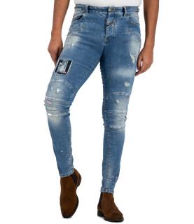 Jeans Boragio - 7415 bleu