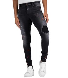 Jeans Boragio - 7410 noir