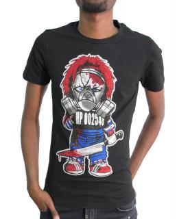 T-shirt Horspist strass - CHUCK M500