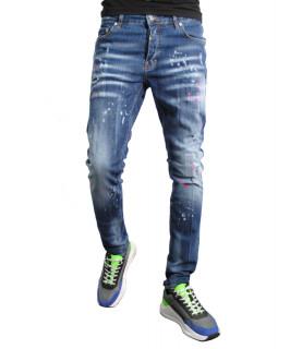 Jeans Horspist bleu - WILTON DARK