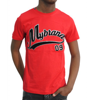 T-shirt My Brand - MB09 RED rouge