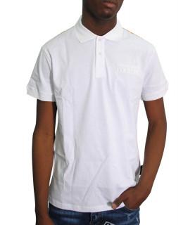Polo Versace Jeans Couture blanc - B3GVA7KE