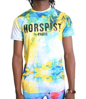Tshirt Horspist - NEWTON M506 AQUA