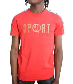 Tshirt Bikkembergs rouge - C70214OE1814