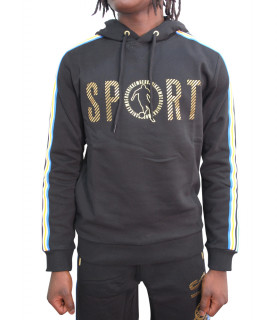 Sweat Bikkembergs noir - C61664PM4199