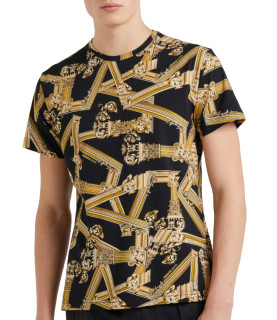 T-Shirt VERSACE JEANS Noir réf: B3GTB7R0