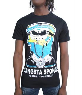T-shirt Horspist noir - SPONGE M520