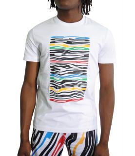 T shirt Bikkembergs blanc - C70213NE1951