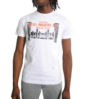 T shirt Diesel blanc - DIEGO S13