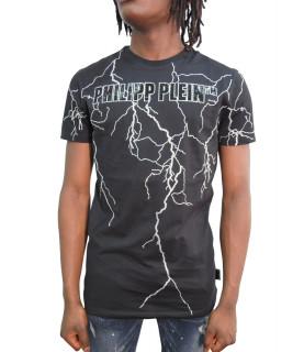 Tshirt Phillipp Plein noir - P20C MTK4451 PJY002N