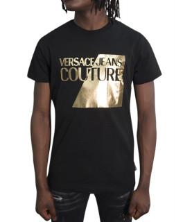 Tshirt Versace Jeans Couture noir - B3GVB7TP-VUM600
