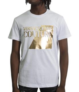 Tshirt Versace Jeans Couture blanc - B3GVB7TP-VUM600