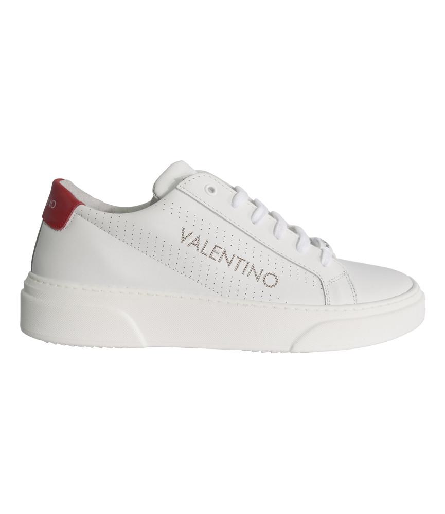 Basket Valentino blanc/rouge - ART 92190698